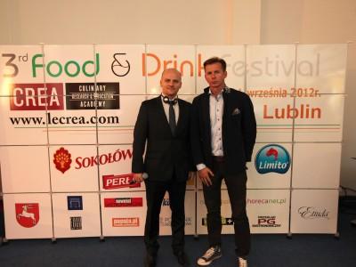"""Trzecia edycja festiwalu """"Food and Drink"""" w Centrum Konferencyjno-Wystawienniczym ETIUDA w Lublinie"""