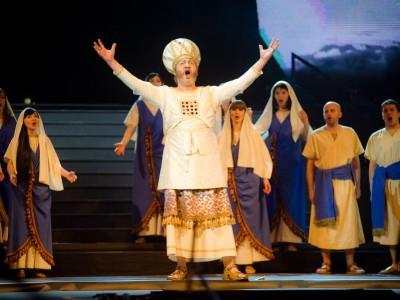 """Premiera opery """"Nabucco"""" w hali Globus w Lublinie"""